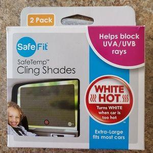 NWT SafeFit Safetemp Cling Shades